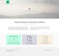 Ivo Mynttinen - User Interface Designer - Webdesign inspiration www.niceoneilike.com