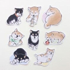 【9/16再販】ふんわりしば犬シール