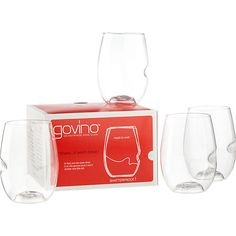 Govino's stemless wine glasses, featured in the August POPSUGAR Must Have box, is perfect for sipping drinks outdoors or indoors –– From Blankets to Bocce Ball: Your Coachella Survival Kit