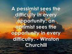 Optimists vs pessimists