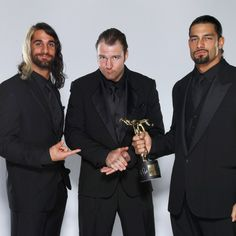 the shield slammy awards photos | The Shield SIGNED WWE Replica Slammy Award