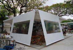 quiosque-conceito (Santos) Portugal, Bed, Outdoor, Furniture, Home Decor, Kiosk, Concept, Saints, Projects