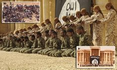 ISIS child executioners kill 25 Syrian regime soldiers in Palmyra