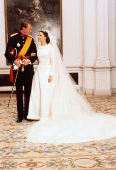Enrique de Luxemburgo y María Teresa Mestre Batista-Falla, boda el Día de San Valentín año 1981