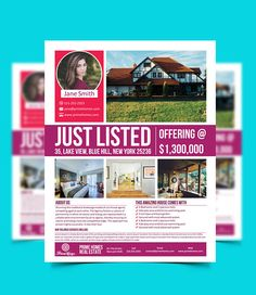 Sample Real Estate Flyer At Open House Open House Flyer Ideas - Real estate flyer template publisher