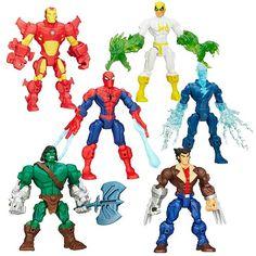 Marvel Super Hero Mashers Action Figures Wave 5