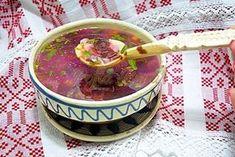 Ciorba de loboda, stevie sau urzici Romanian Food, Stevia, Soup, Cooking, Ethnic Recipes, Drink, Recipes, Salads, Kitchen