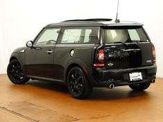 Blacked out Cooper Clubman S
