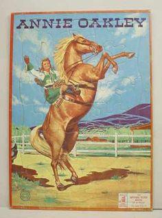 vintage annie oakley poster - Google Search