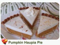Pumpkin Haupia Pie