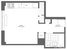 Studio Apartment Floor Plans New York small studio apartment floor plans | home future students current