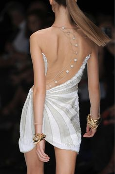 From lemademoiselleuk.tumblr.com #backless #dress