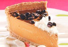 Receita de Cheesecake de café e coco - Torta doce - Dificuldade: Médio