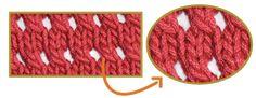 Galería de puntos 1 - Tejiendo Perú Crochet Double, Knitting Patterns, Projects To Try, Diy Crafts, Wool, Stitch, My Favorite Things, Santa Clara, Position