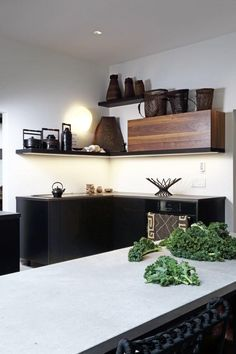 Art gallery kitchen in Montreal.