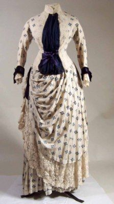 Dress ca. 1884-1886 via Manchester City Galleries