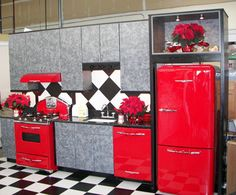 vintage kitchen | Kitchen on Retro Kitchens Kitchen Concepts Nw Llc