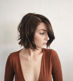 Soft wavy blunt bob by Dominick Serna