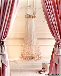 Beautiful Chiffon Slip Dress.       http://www.marthastewartweddings.com/photogallery/pink-wedding-dresses?lpgStart=1&currentslide=1&currentChapter=1