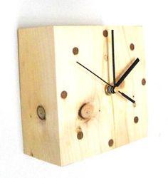 craft wood clock | wooden clock by jasper & george