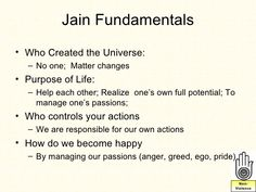 Jainism presentation