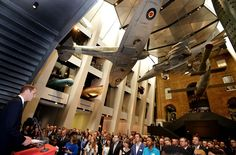 Prince William, Duke of Cambridge addresses the dignitaries at the newly refurbished Imperial War Museum on July 17, 2014 in London, England. The Duke of Cambridge opened the Museum's new First World War galleries following a £40million to transformation.