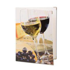 3 Stk. Weinkarten mit Goldprägung. Aus cellophaniertem Karton mit 2 Sichtseiten. Für eine gelungene Weinpräsentation! Menu Cards, Card Stock