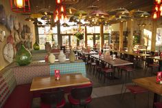 Nandos restaurant by B3 Designers, Leigh   UK hotels and restaurants