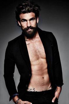 Dimitris Alexandrou @psilos7 - @dimalexan #beard #tattoos