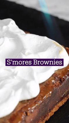 Brownie Recipes, Cake Recipes, Dessert Recipes, Fun Desserts, Delicious Desserts, Yummy Food, Fun Baking Recipes, Sweet Recipes, Comida Diy