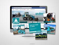 © designstuuv.de | Gestaltung, Redaktion und Pflege Facebookseite für Hollander Strassen- und Tiefbau