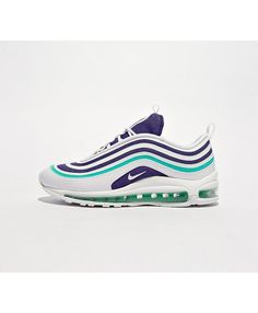 free shipping 01f53 c3a75 Nike Air Max 97 Ultra17 Chaussures Blanc violet vert