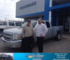 #HappyBirthday to George Mckee from Phillip Burnette at Crossroads Chevrolet Cadillac!