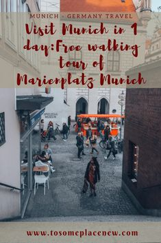 If you visiting Munich for a day, read this itinerary, which also includes free activities to do in Old Munich - in Marienplatz