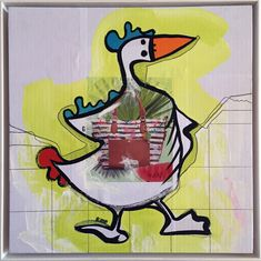 Donald Duck, Disney Characters, Fictional Characters, Animals, Art, Art Gallery, Contemporary Art, Art Background, Animales