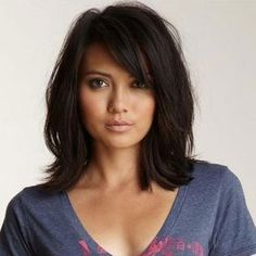 Layered Haircuts for Medium Length Hair In 2020 Shoulder Length Hairstyles to Show Your Hairstylist asap Of 99 Amazing Layered Haircuts for Medium Length Hair In 2020 Side Bangs Hairstyles, Bob Hairstyles, Straight Hairstyles, Celebrity Hairstyles, Shoulder Length Hairstyles, Full Fringe Hairstyles, Fashion Hairstyles, Layered Hairstyles, Latest Hairstyles