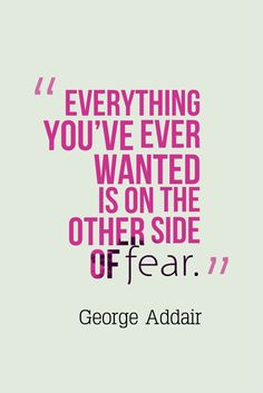The greatest achievements is past FEAR! What are you doing to move past fear? http://www.candiceellencarter.com