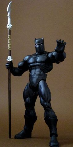 T'Challa the Black Panther (Masters of the Universe) Custom Action Figure