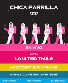 Cresta Metálica Producciones » Chica Parrilla aterriza este jueves 12 de marzo en Discovery Barjunto a La Última Thule