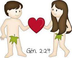 Resultado de imagen para imagenes de adan y eva para niños de la biblia