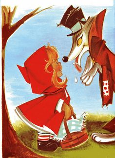 little red riding hood..how sweet is she?