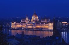 Man Made Hungarian Parliament Building  Budapest Hungary Wallpaper