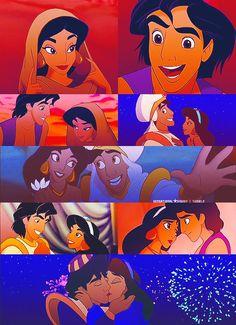 Aladdin + Jasmine.