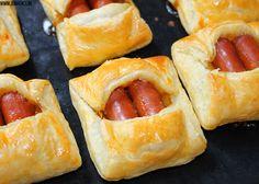 Jouvence: mini broodjes knakworst