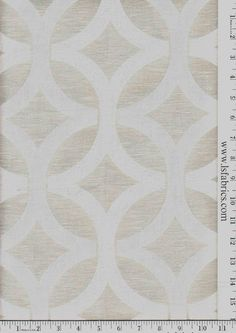 """$25/yard Item ID  1120440 Style  Bamber Color  Fog Repeat  6.7"""" Repeat Width  54"""" Content  90% Polyester, 10% Cotton Use  Drapery"""
