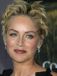 Sharon Stone Hairstyles (4)