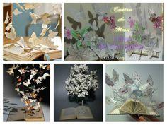 Con hojas recicladas, por ejemplo de periódicos, podemos elaborar preciosos centros de mesa. ¿Vemos cómo? Si