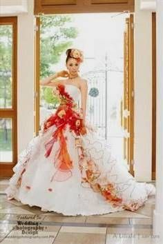 Nice Anese Inspired Wedding Dresses 2017 2018