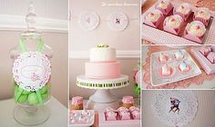 Vintage Pink Baby Shower - Kara's Party Ideas - The Place for All Things Party