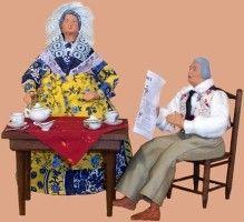 couple au petit dejeuner